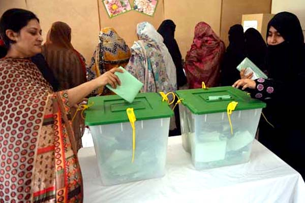 Azad Kashmir Assembly elections continues