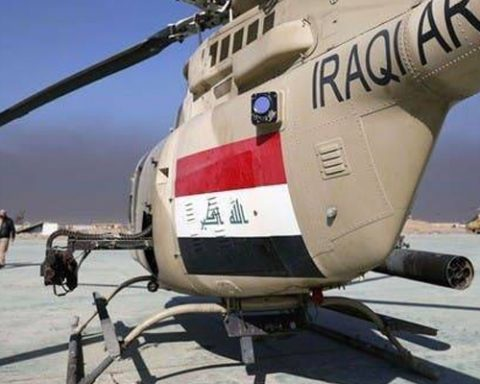 Iraqi army helicopter crashes, killing 5 soldiers