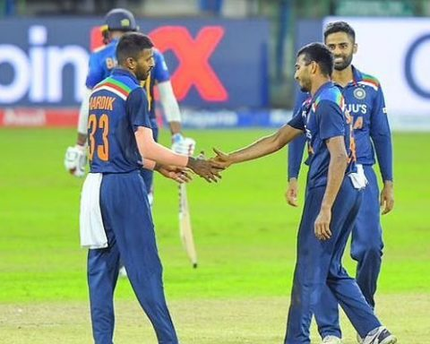 Sri Lanka won the series by defeating India in the third T20